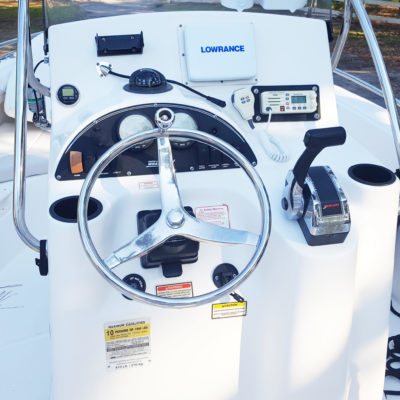Boat Center Console Interior