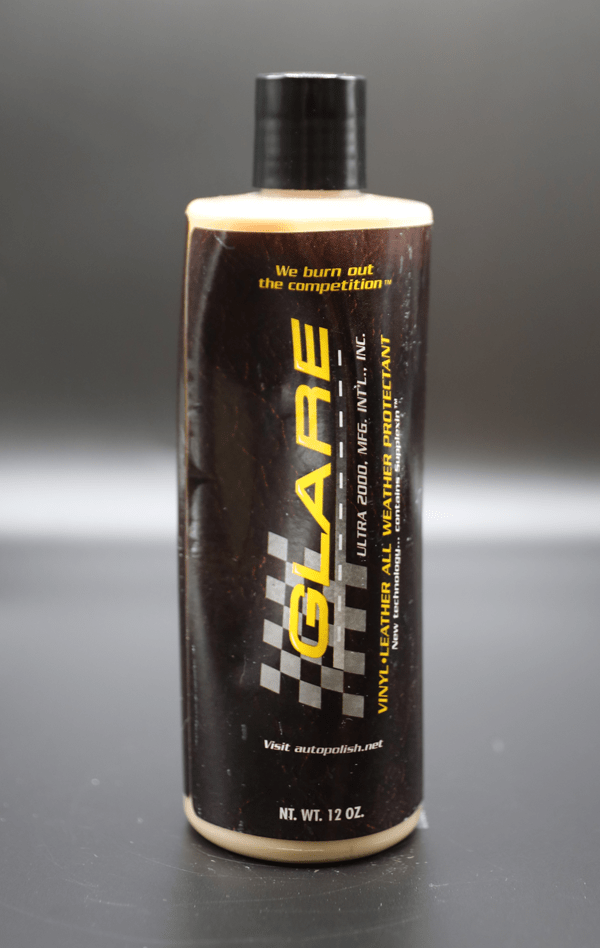 GLARE® VINYL LEATHER ALL WEATHER PROTECTANT